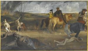 Degas. Scène de guerre au moyen-âge