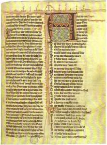 Poème de Hadewijch (manuscrit médiéval)