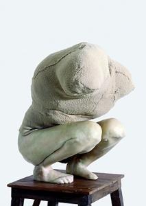 Berlinde De Bruyckere · Aanéén-Genaaid, 2002