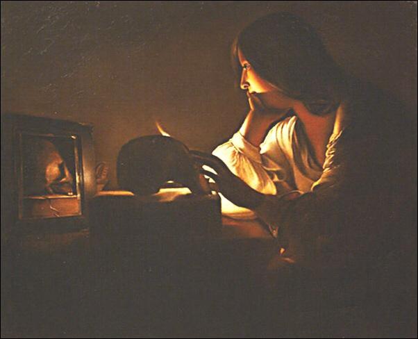 Georges de la Tour, Madeleine au miroir