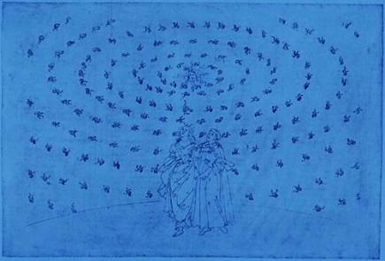 """""""l'Amour qui meut le Soleil et les autres étoiles"""" Dante, La divine comédie."""