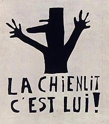 Affiche de l'Atelier des Beaux-arts, 1968.