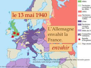 le+13+mai+1940+envahir+L_Allemagne+envahit+la+France.
