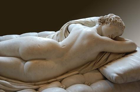 Hermaphrodite endormi, IIè siècle après J.-C., Musée du Louvre